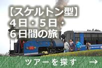 【スケルトン型】4日・5日・6日間の旅